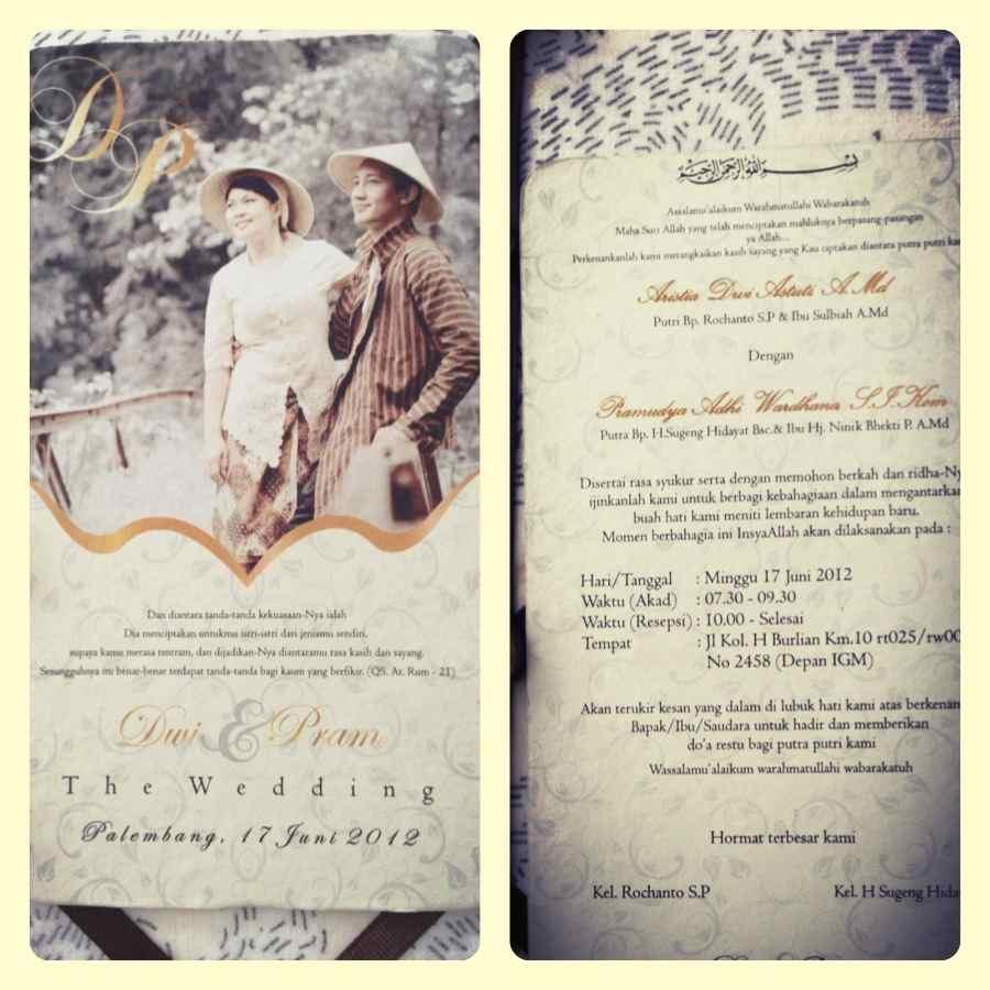 Undangan Harga 2000 5000 Pernikahan Gracia Theinvitation Umahkertas Kuning