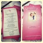 Undangan Pernikahan Kartikatur