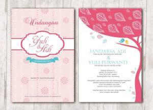 Undangan Pernikahan Sederhana dan Unik