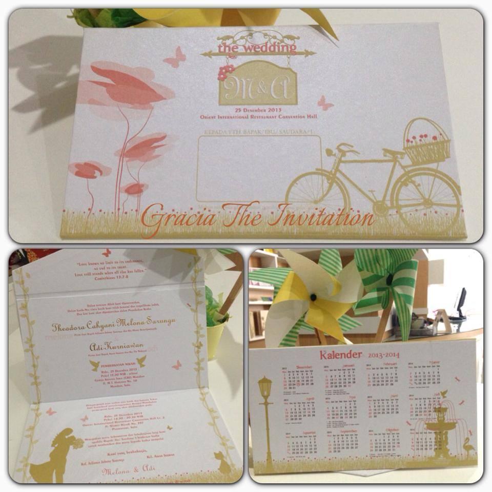 Romantic Garden Theme Invitation